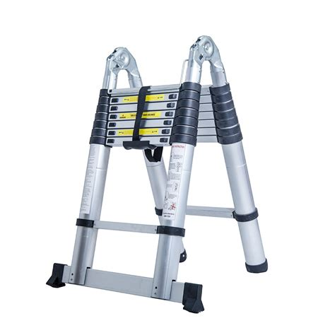 Multi Purpose Ladder bn 5 0m multi purpose folding telescopic aluminium a frame