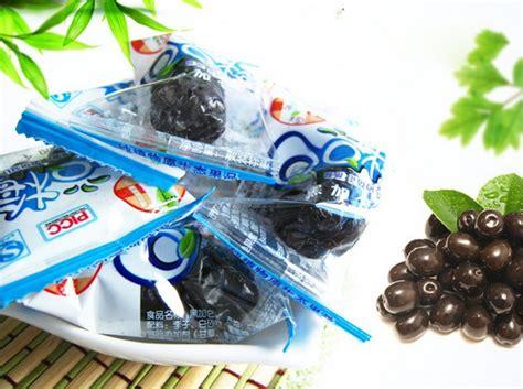 Permen Cemilan 1 Black Currant Plum 145g Manisan Blueberry