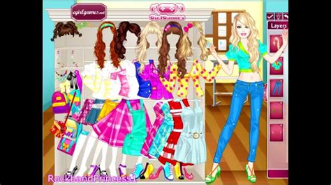 All free online girl dress up games