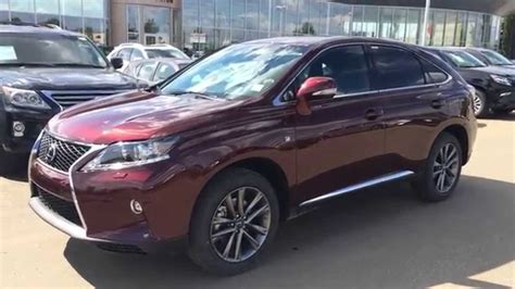 burgundy lexus with black rims 2015 lexus rx 350 awd f sport package review on