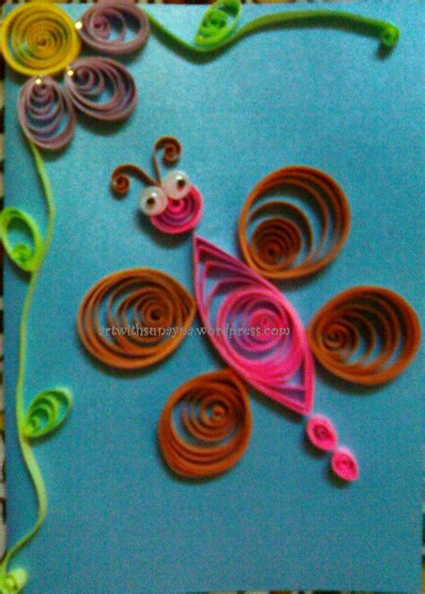 Greeting Card Using Quilling Paper - paper quilled greeting cards with sunayna page 2