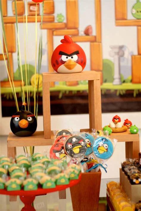 Angry Birds Decoration Ideas Kara S Ideas Angry Birds Themed Birthday