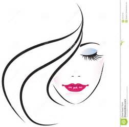 More similar stock images of face pretty woman logo vector