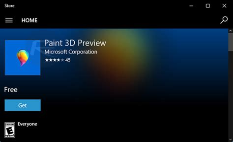 a paint 3d preview is already available for windows download paint 3d preview app for windows 10 now ahead of