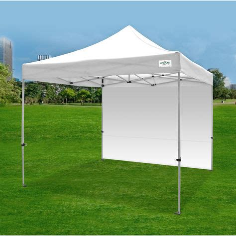 shade walls for caravan awnings caravan canopy sports titan shade 10x10 canopy w wall