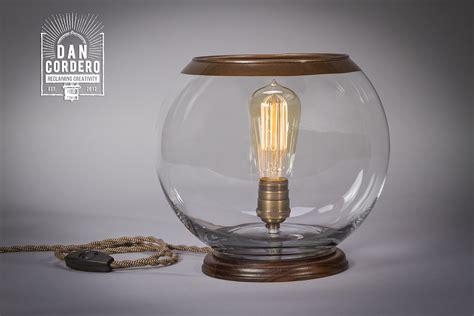 Glass Globe Table L Desk L Edison L