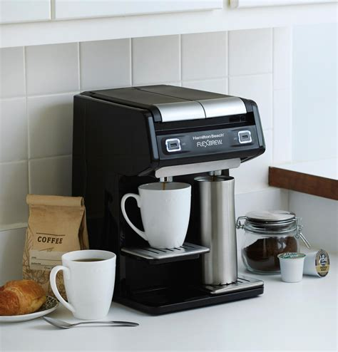 Dual Coffee Maker K Cup – Coffee Consumers   Dual Coffee Maker Black