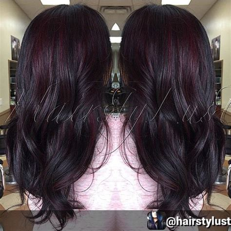 how will black cherry hair dye come out witj red hair 289 best dyed hair images on pinterest hair colors