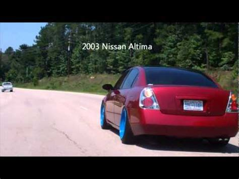 stanced nissan altima why because i can cruising stanced altima youtube