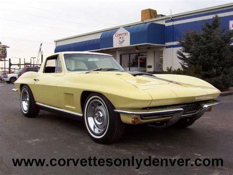automobile air conditioning repair 1967 chevrolet corvette user handbook buy used 1967 corvette big block coupe in englewood colorado united states for us 55 000 00