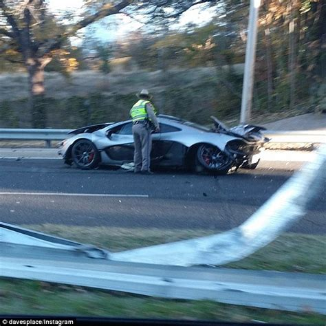 p1 crash mclaren p1 crashed in dallas one day after owner picked it