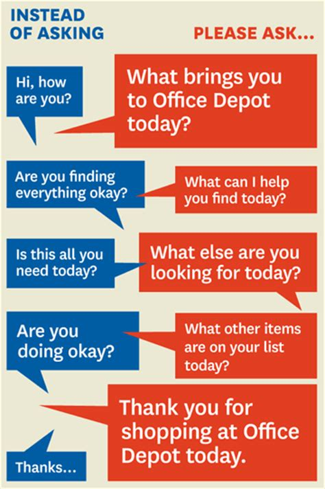 office depot s president on how mystery shopping helped