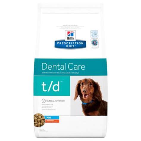 hill´s prescription diet canine t/d dental care mini at
