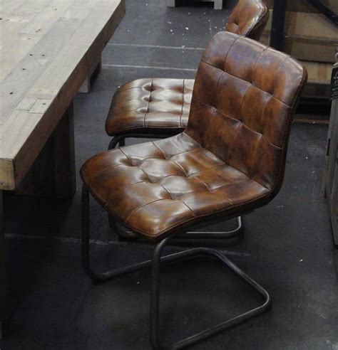 vintage leather dining chair best 25 leather dining chairs ideas on dining