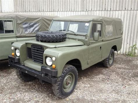 land rover series 3 109 land rover series 3 109 petrol 11517 ex army uk 187 ex
