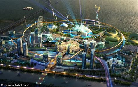 12 futuristic theme park concepts rides that are out of the robot theme park south korea plans 163 380m attraction