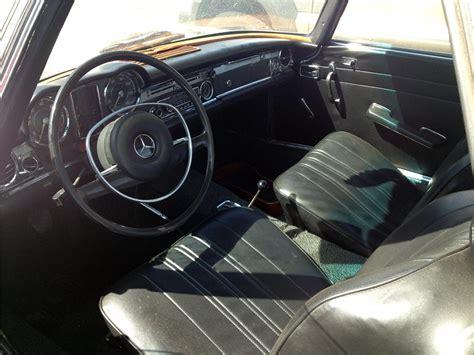 Mercedes 280sl Interior by 1970 Mercedes 280sl Roadster 157859