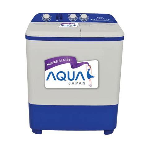 jual sanyo aqua sw871xt mesin cuci 8 kg harga kualitas terjamin blibli