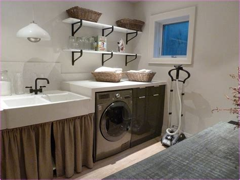 how to decorate a laundry room basement laundry room decorating ideas basement laundry