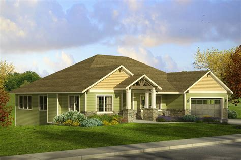 Craftsman House Plans   Berkshire 30 995   Associated Designs