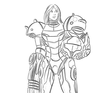 samus super smash bros coloring pages coloring home