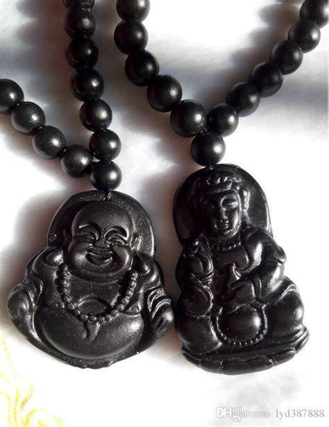 Gelang Blackjade 5 wholesale light black jade buddha kwan yin pendant jadeite grade a jade