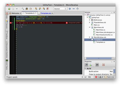 t4 templates in monodevelop mhut ch