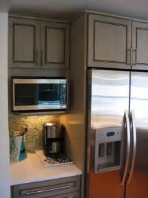 Kitchen Cabinet With Microwave Shelf by 15 Microwave Shelf Suggestions