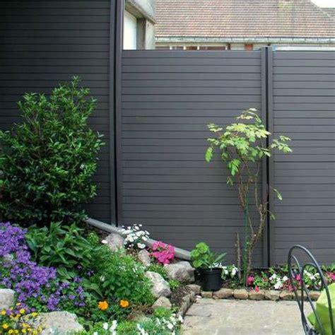 recinzioni x giardini recinzione da giardino in wpc legno composito kit di