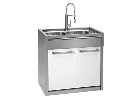 sink units kitchen kitchen unit with double sink genesi collection by steel