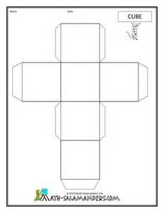 Three Dimensional Shapes Templates by Geometric Nets Worksheets Abitlikethis
