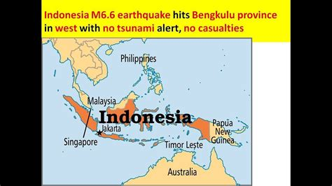 earthquake bengkulu indonesia m6 6 earthquake hits bengkulu province in west