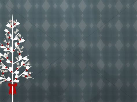Christmas Tree Worship Background