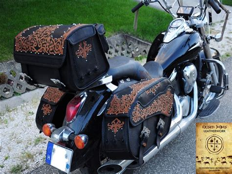 Handmade Saddlebags - 17 best images about motorcycle custom leather saddle bags