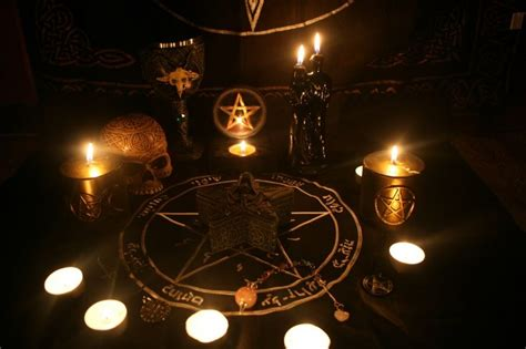 black x voodoo witchcraft altar folk magic and the craft