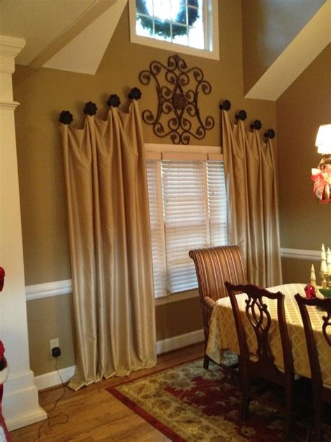 unique curtain hanging ideas 17 best drapery ideas on pinterest curtain ideas sewing