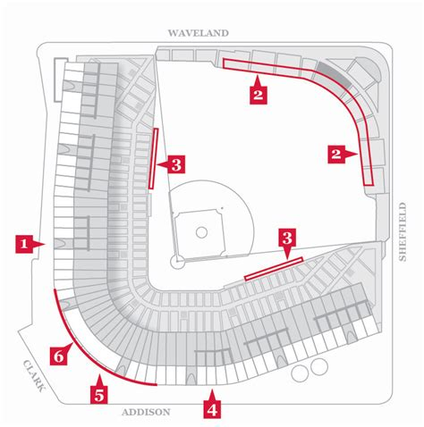 cubs bleacher seats 2017 wrigley field renovation timeline of construction