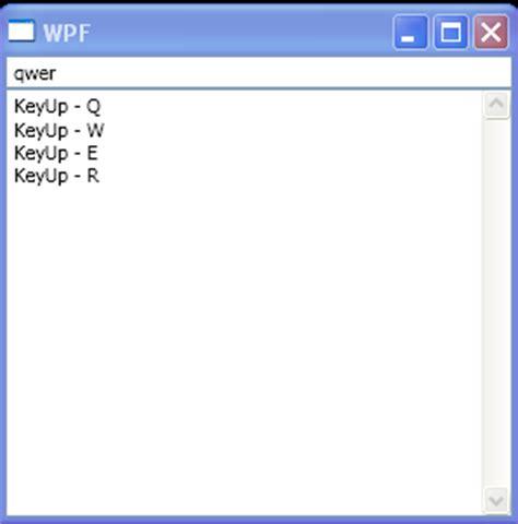 text box layout xaml textbox keyup textbox 171 windows presentation foundation