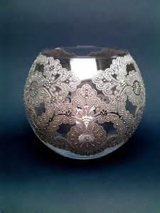 lace vase glass vase vase painted vase painted