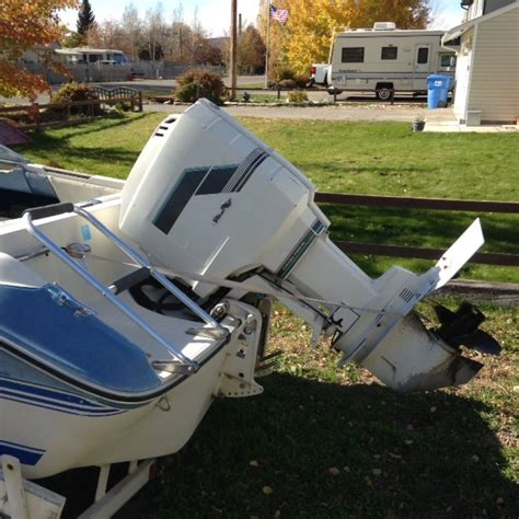 sea ray boats with outboards 1988 16 ft sea ray open bow boat with 100 hp outboard