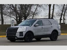 2019 Ford Explorer Finally Spied in Close-to-Production ... Ford Parts Giant