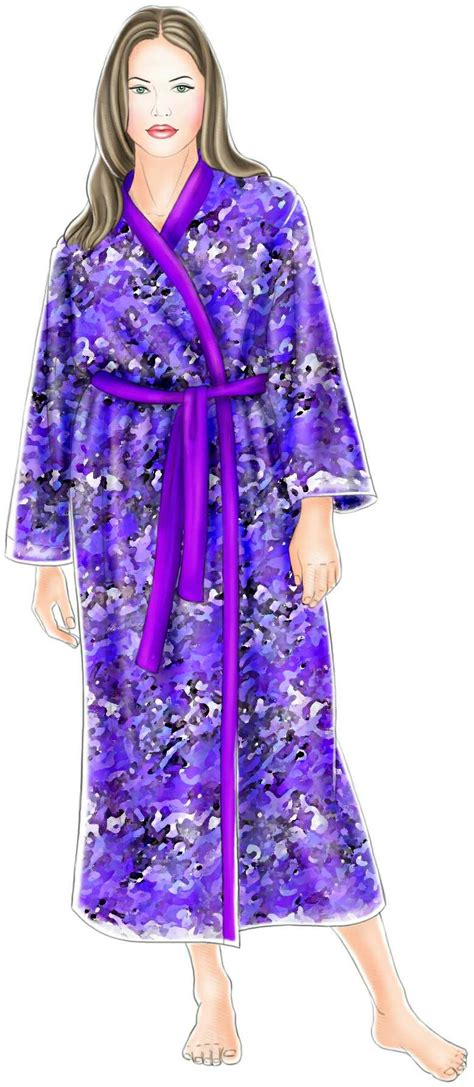 sewing pattern kimono dressing gown kimono gown sewing pattern 5257 made to measure sewing