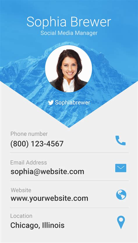material design business card template free free material design business cards psd freedownloadpsd