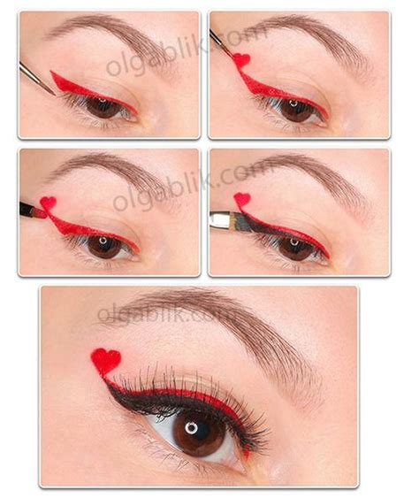 makeup ideas for valentines day eye makeup for s day pictures photos and