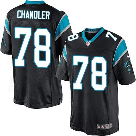 nate chandler carolina panthers nike youth limited home