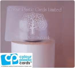plastic business cards uk clear business cards and the ink colours available