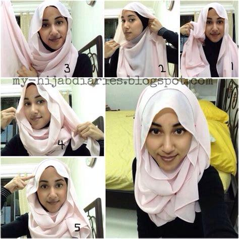 Tutorial Hijab Simple Ootd   hijab tutorial hijabtutorial simple hijab tutorial step