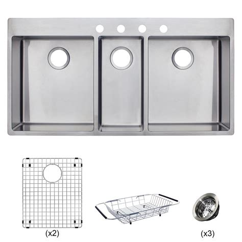 franke sinks customer service franke vector all in one dual mount stainless steel 43 in