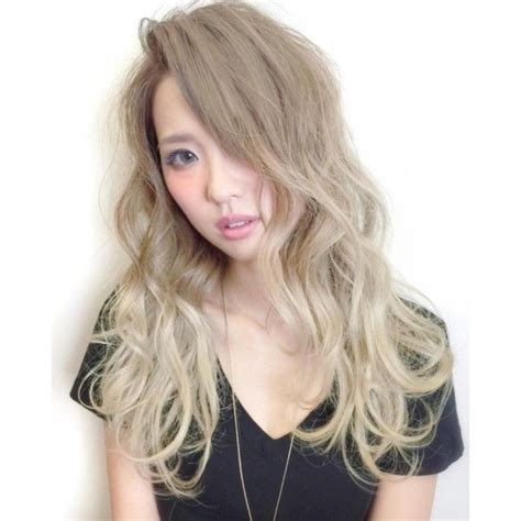 blonde asian hairstyles ash blonde hair dye asian hair pinterest ash blonde