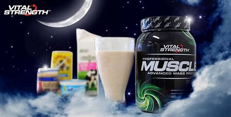 drinking protein before bed protein shake right before bed nutrisystem food shelf life